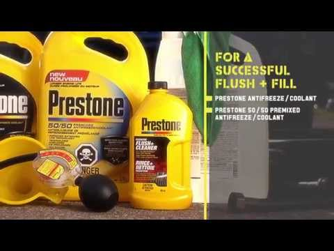 Flush And Fill | Prestone®