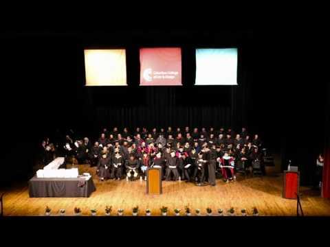 Columbus College of Art & Design 2016 Commencement