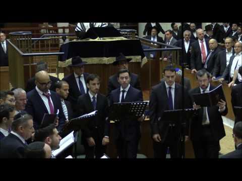 Choral Midnight Selichot 2016 with Cantor Avraham Kirshenbaum - Kaddish Tiskabel