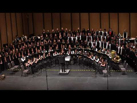 Grace Before Sleep (4k) - Henry Middle School Honors Band at TMEA