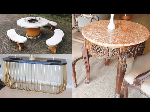 30 Table Wood Stone Glass Creative Design Ideas 2021 - Coffee Table Part.7