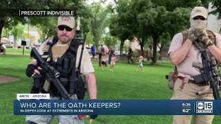 Oath Keepers look to recruit in Arizona with alarmist 'Civil War' rhetoric