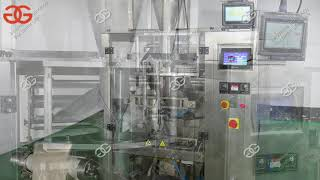 Automatic Powder Pouch Packing Machine - Filling and Sealing Automatically