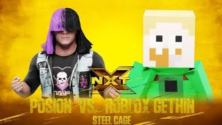 WWE 2K19 Superstar confronto veneno vs Roblox Gethin