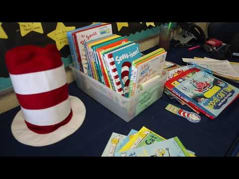 Volunteers read to students for Read Across America