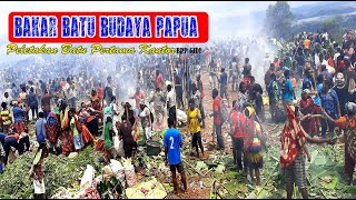 Bakar Batu Peletakan Batu Pertama Pembangunan Kantor Pusat BPP GIDI Jayapura Papua