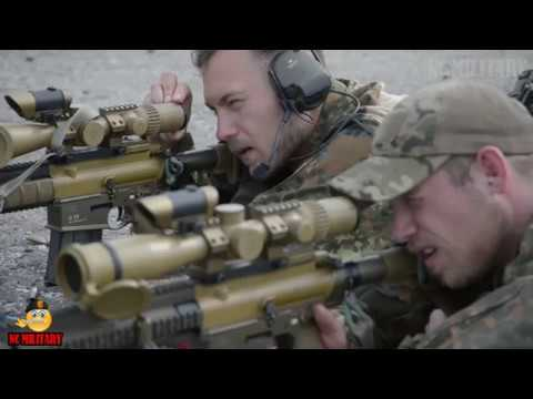 U.S ARMY TRAINING TO BECOME A SNIPER