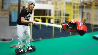 Jousting on Hoverboards with Rocco Piazza!