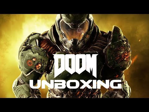 DOOM: The Board Game Unboxing | Fun With Geeks