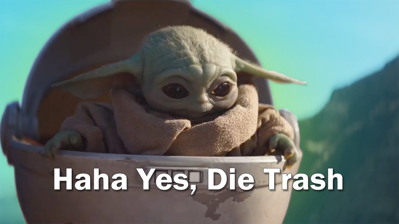 Baby Yoda But With Subtitles Youtube