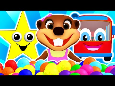 """""""Baby Star"""" Colors for Children to Learn with Songs, Shapes, ABCs & Nursery Rhymes by Busy Beavers"""