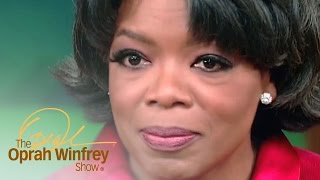 The Moving Oprah Moment You Didn't See on TV   The Oprah Winfrey Show   OWN