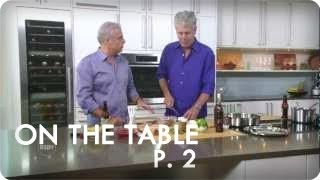 A Tale of Two Anthony Bourdains with Eric Ripert | Ep. 1 Part 2/3 On The Table | Reserve Channel
