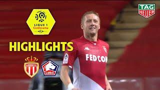AS Monaco - LOSC ( 5-1 ) - Highlights - (ASM - LOSC) / 2019-20