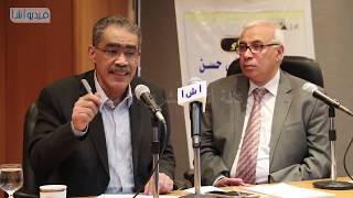 بالفيديو : ضياء رشوان في ضيافة أ ش أ ويرد على تساؤلات الصحفيين