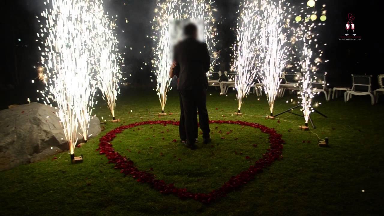 Cenas rom nticas destellos youtube - Cena ligera romantica ...
