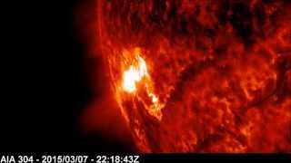 Solar X-ray Event: M9.2 Class Flare | March 07, 2015