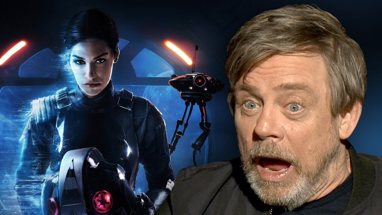 Why Mark Hamill Hasn't Played Star Wars: Battlefront 2
