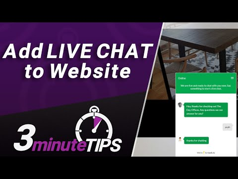 Add Live Chat To Website With Tawk.to In Less Than 200 SECONDS! Best FREE Online Chat Software?