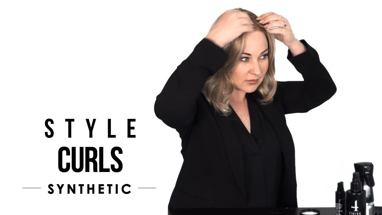 HOW-TO: Style wavy wigs and preserve their curl pattern - Synthetic Hair Care