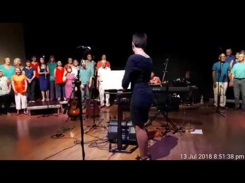 Sweet Honi Choir - Times Like These Live at The Beehive Friday 13th July 2018