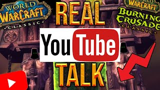 Real Talk: YouTube, Classic And The Future Of My Channel
