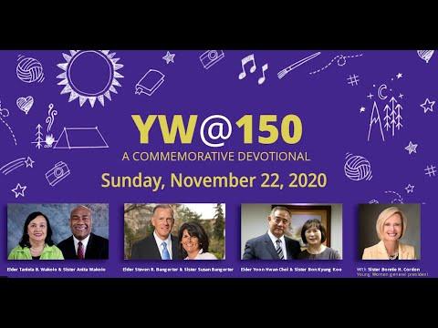 Young Women @ 150 Devotional
