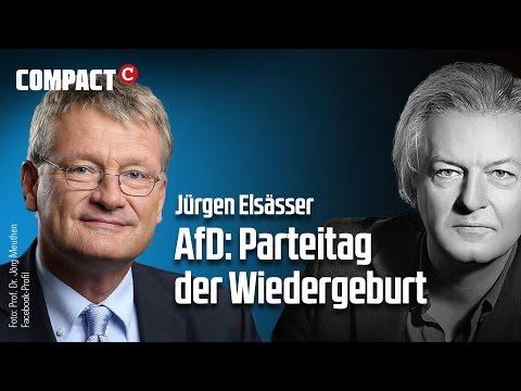 Videokommentar: #AfD – #Parteitag der Wiedergeburt!