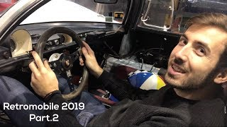 RETROMOBILE 2019 | LA COLLECTION DE CASQUES DE FOU !
