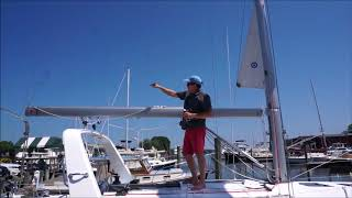 Importance of Friction in Furling Mainsail - Furling Part 2