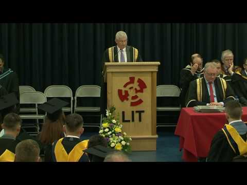 LIT Conferring 2016 Thurles - Department of Sports and Finance