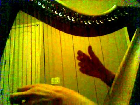 The Legend of Zelda: Skyward Sword - Main Theme (Ballad of the Goddess) on Harp