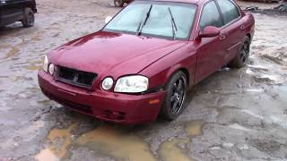 Scrapped? 2004 Kia Optima! Low Miles !