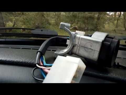 Как заменить замок зажигания на Ваз 2114 без автоэлектрика