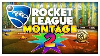 Rocket League Montage #2: Josef Andas & Nästan Mål i Sista Sekunden!
