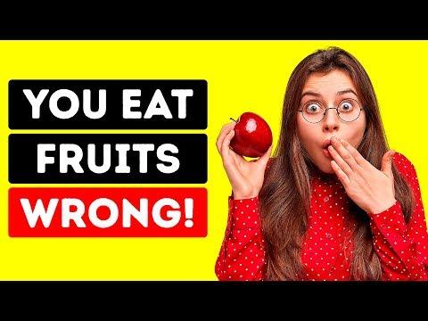 Meyveleri Bu 9 Şekilde Bir Daha Asla Tüketmeyin