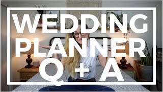 WEDDING PLANNER Q + A: Advice, Pet Peeves, and Crazy Wedding Moments