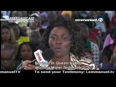 Testimonies at the SCOAN   Barrister Dr Queen Agbaji Prophesy and Confirmation