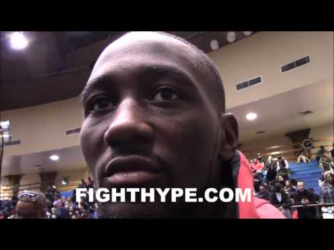 TERENCE CRAWFORD REVEALS THE FIGHT THAT HE REALLY WANTS AT 140; DOWN FOR MIKEY GARCIA CLASH