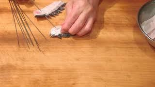 《石鯛(イシダイ)の捌きと 刺身、焼き物、酒蒸し【3】》・・・・大和の 和の料理《焼き物》