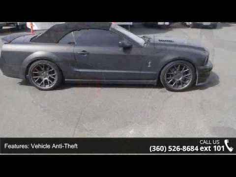 2008 Ford Mustang Shelby Gt500 Convertible Repo B Youtube