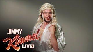 PARODIA: La Audición nunca antes vista de Kit Harington para Game of Thrones (Subtitulado)