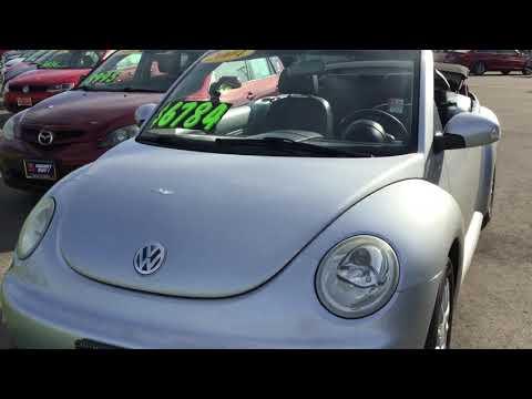 2004 Volkswagen Beetle Convertible