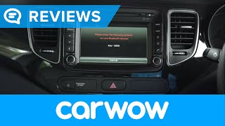 Kia Carens 7 Seater 2018 infotainment and interior review | Mat Watson Reviews