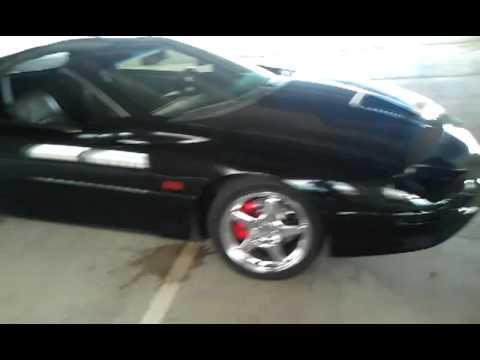 Black Widow 1997 Camaro SS LT1 YouTube