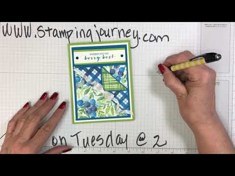 Talkin' on Tuesday @ 2 Featuring our Stitched Triangle Dies!
