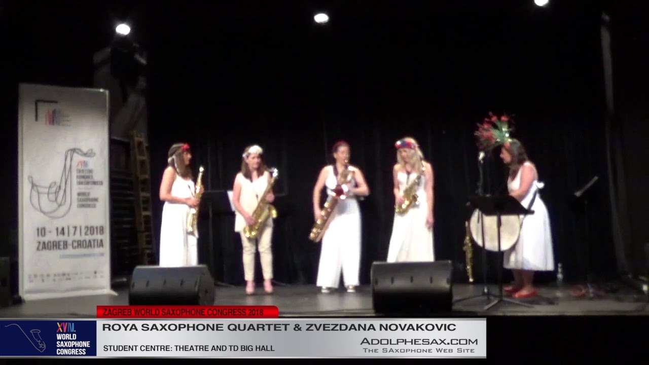 Stories from Afar by Oliwia Wronikowska   Roya Saxophone Quartet & Zvezdana Novakovic  XVIII World S