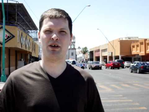 Nathaniel in Mexicali, Mexico!