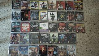 Mi colección de juegos en físico de PS3 2018