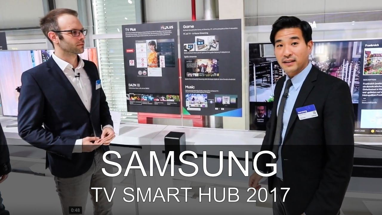 samsung neues tv smart hub 2017 roadshow 2017 thomas electronic online shop q7 q8 q9 youtube. Black Bedroom Furniture Sets. Home Design Ideas